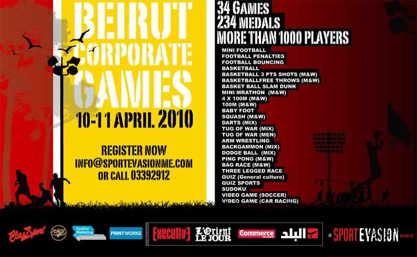 Beirut Corporate Games