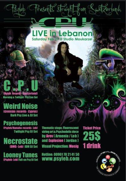 CPU live in Lebanon