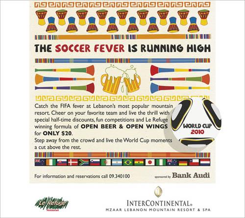The Soccer Fever is Running High