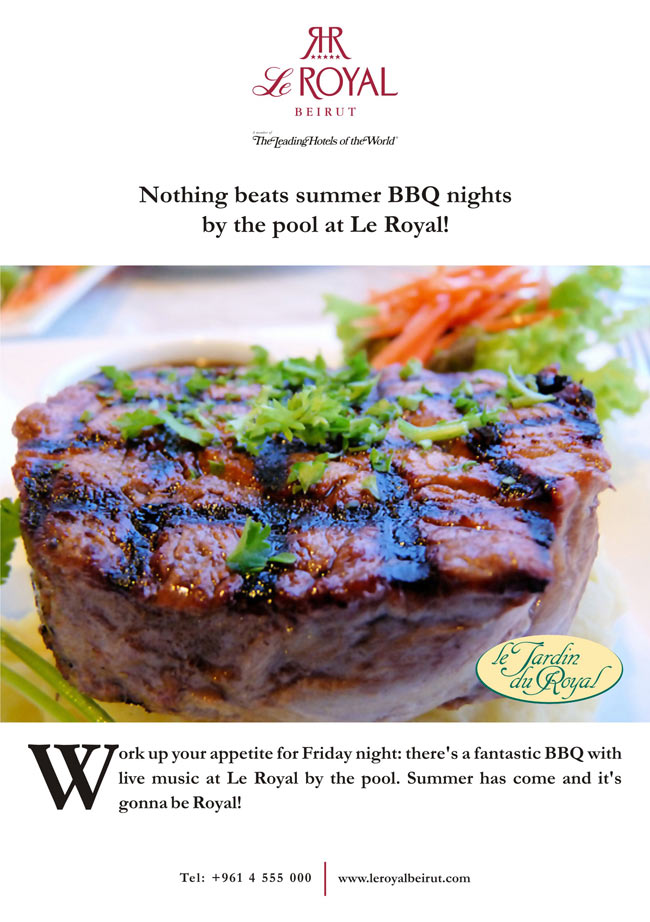 Nothing Beats Summer BBQ Nights by the Pool at Le Royal