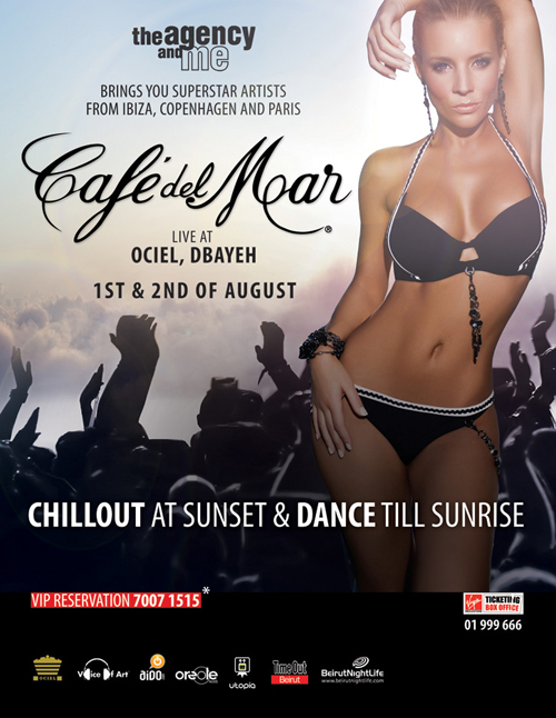 Cafe Del Mar Live in Beirut for the first time ever