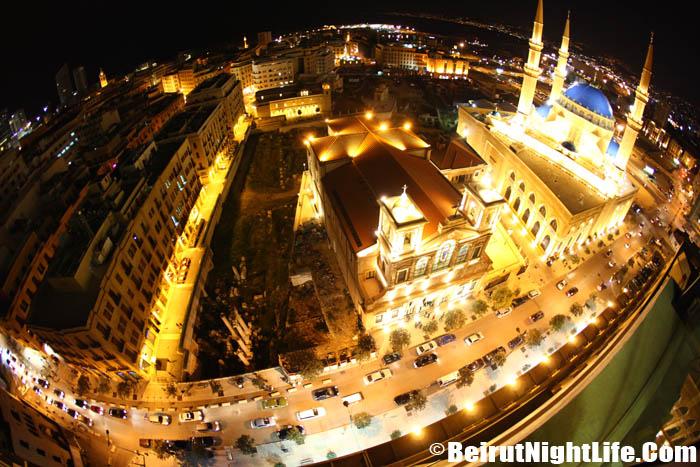 Beirut In Fish Eye