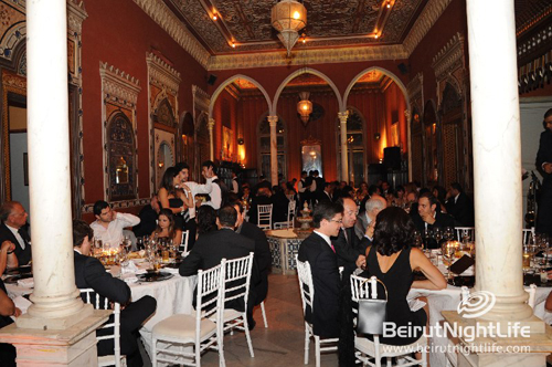 Gala Dinner on the Occasion of Mr. Christian Porta's visit to Lebanon, CEO of CHIVAS Brothers