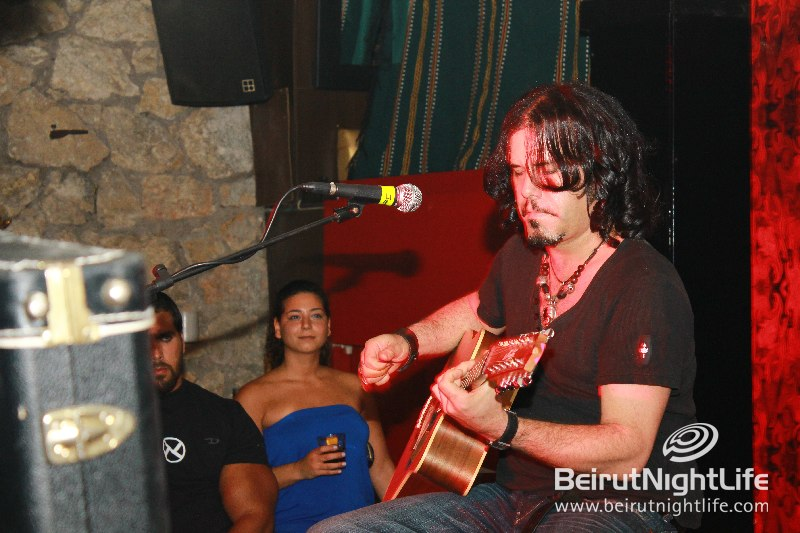 Jeff Martin Rocks The Basement