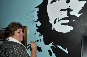 Che Guevara's Daughter at La Bodeguita Del Medio Beirut