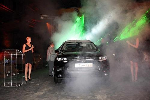 New Volkswagen Touareg dazzles at Lebanon