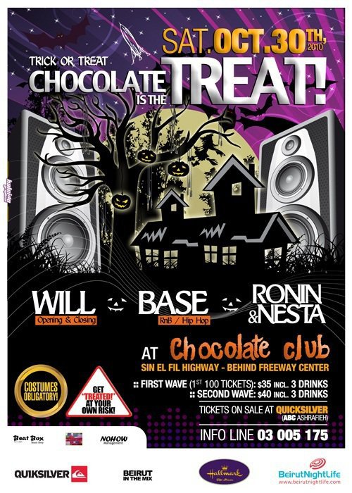 Chocolate Is The Treat at Chocolate Club (Halloween Special)