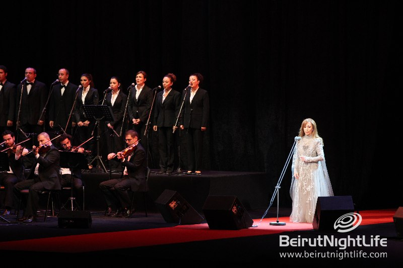 "Fairouz ""Wows"" the Crowd"