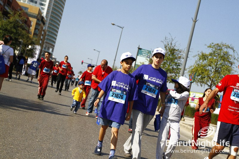 Achievements at the Beirut Marathon 2010
