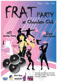 Frat Party at Chocolate Club
