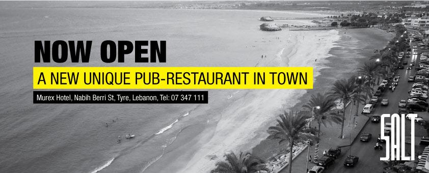SALT A New Unique Pub-Restaurant In Town