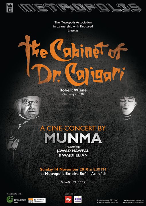 The Cabinet of Dr. Caligari: A Cine-concert by Munma