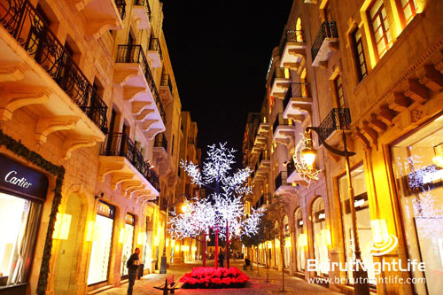 Christmas Ville in Downtown Beirut