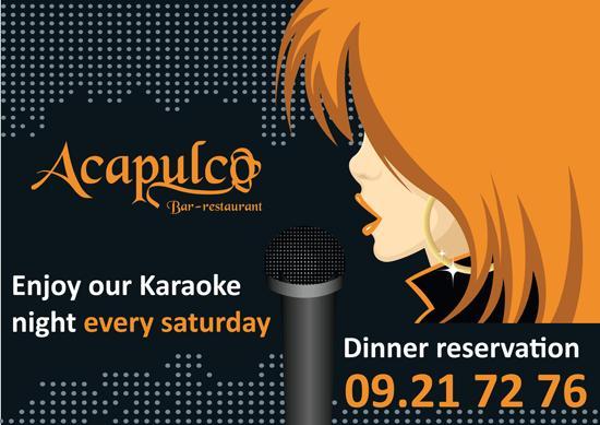 Karaoke At Acapulco