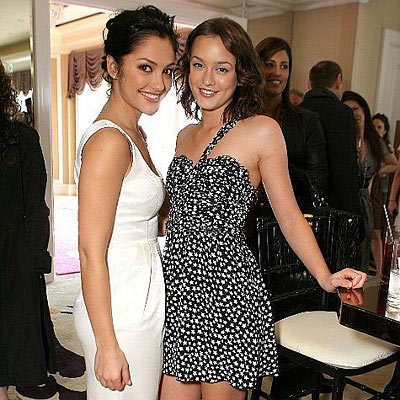 Leighton Meester & Minka Kelly are Roommates