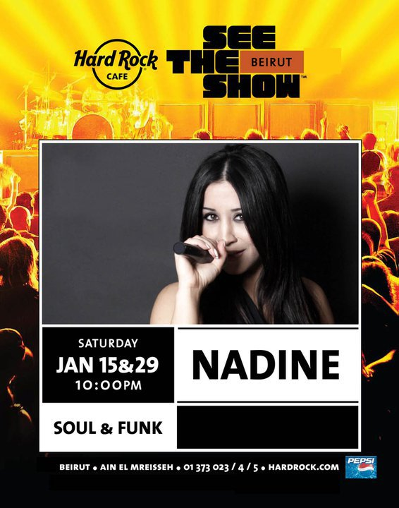 Nadine Has Got Soul Live At Hard Rock Cafe