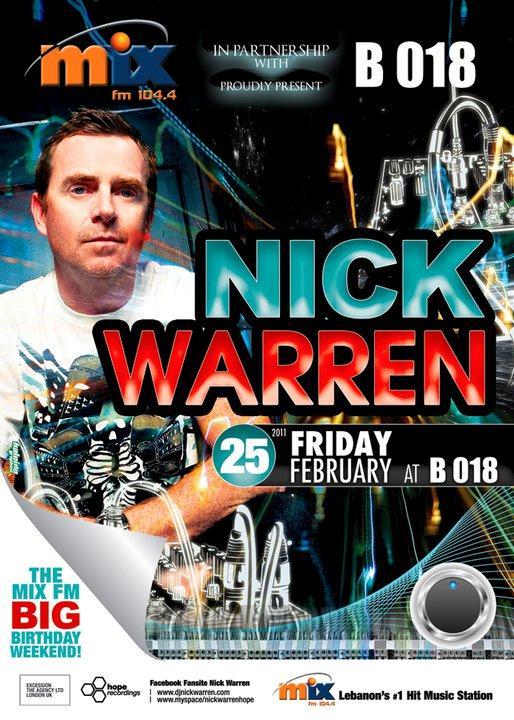 Nick Warren At B 018
