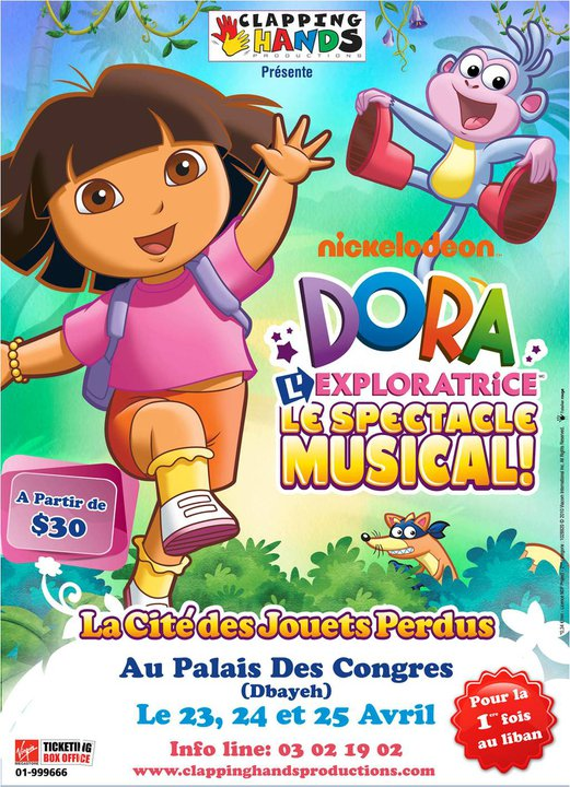 Dora L'exploratrice Le Spectacle Musical At Palais Des Congres