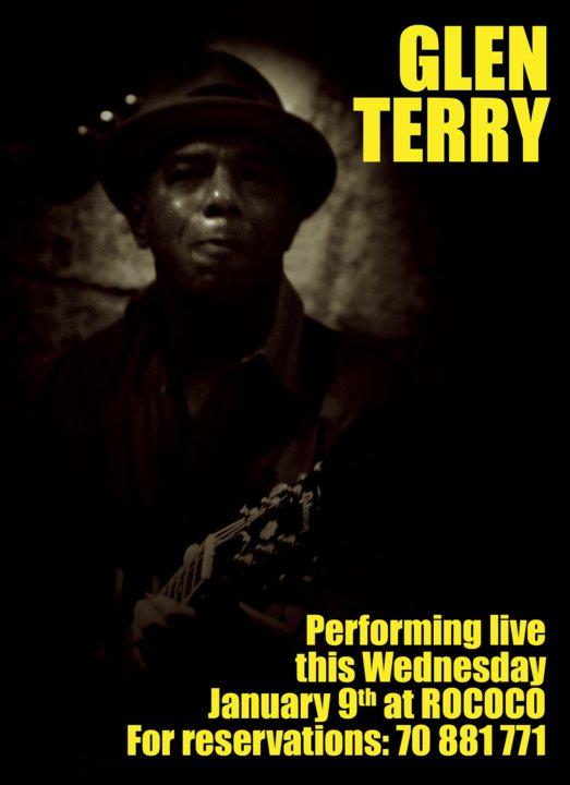 Glen Terry Performing Live At Rococo