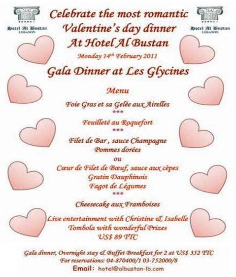 Celebrate The Most Romantic Valentine's Day Dinner At Hotel Al Bustan