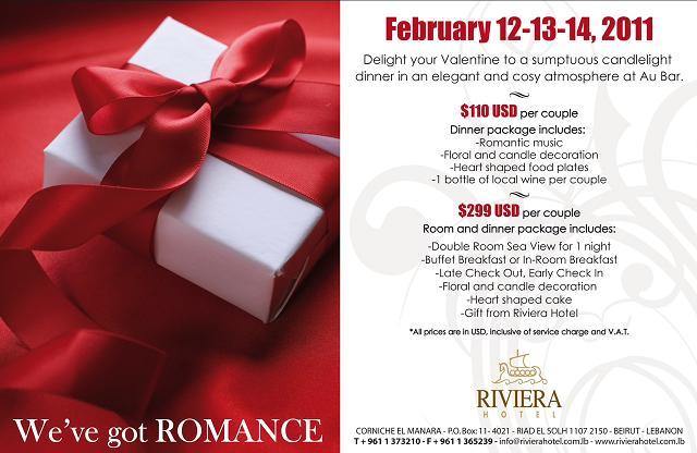 We've Got Romance At Riviera Hotel