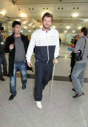 Turkish Heart Throb on Crutches