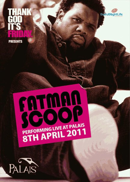 Fatman Scoop Performing Live At Palais