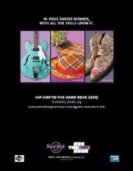 Hip Hop To The Hard Rock Cafe