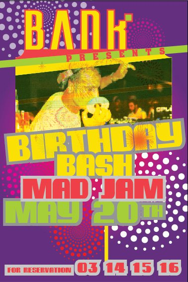 Birthday Bash Of Madjam