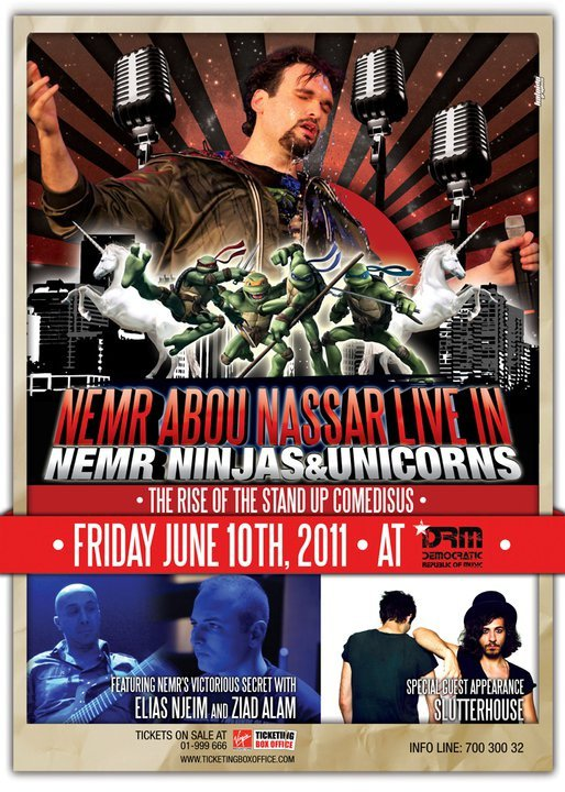 Nemr Ninjas And Unicorns The Rise Of The Stand Up Comedians