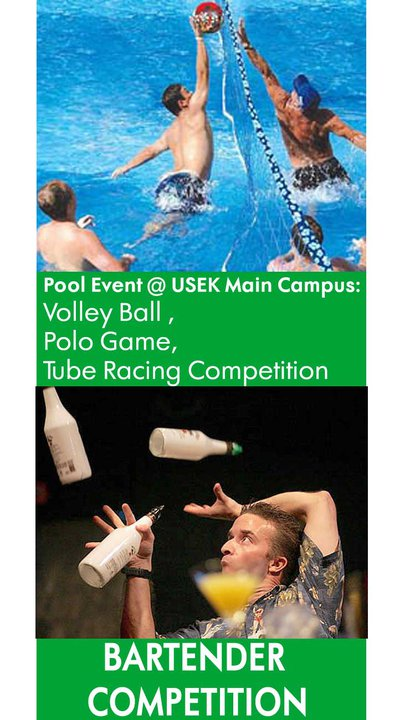 Pool And Bartenders Competition At USEK