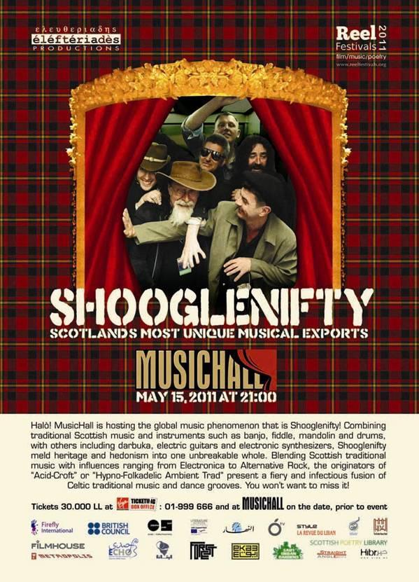 Scottish Band Shooglenifty At MusicHall