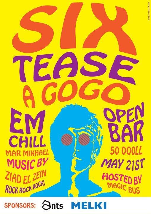 Six Tease A Gogo At Em Chill