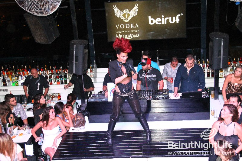 Eva Simons Performs at Beiruf