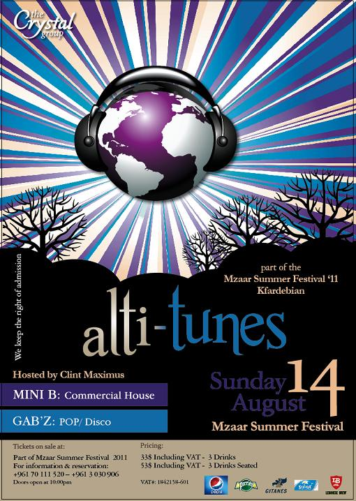 Crystal Group Present Alti-Tunes 2011