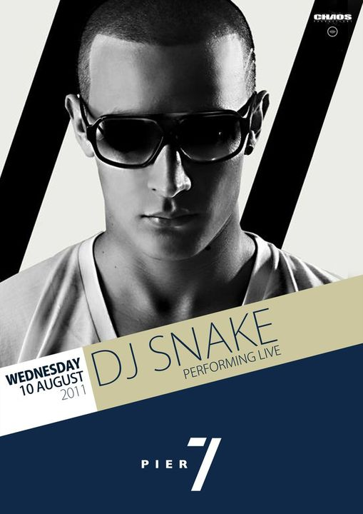 Dj Snake Performing Live At Pier 7