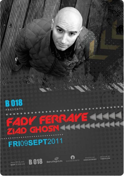 Fady Ferraye And Ziad Ghosn Live At B018