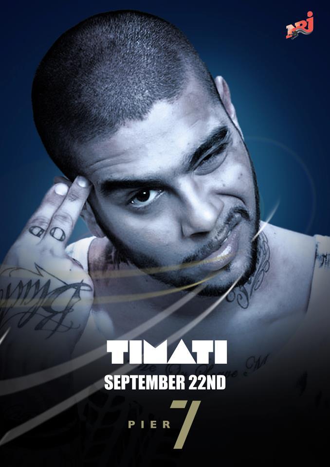 Dj Timati Live At Pier 7