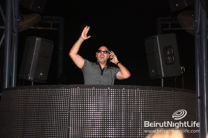 From Miami to Beirut Roger Sanchez Performs at Pier 7