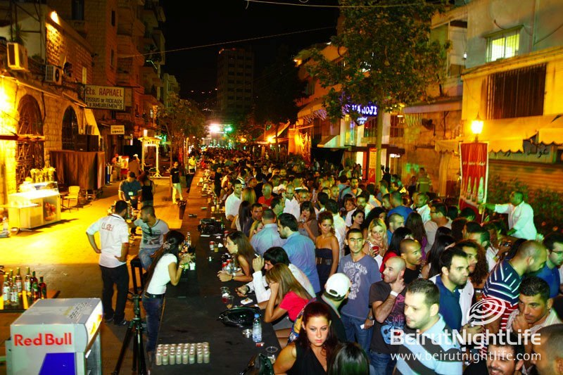 Jounieh Old Souk Record for the Longest Bar Event
