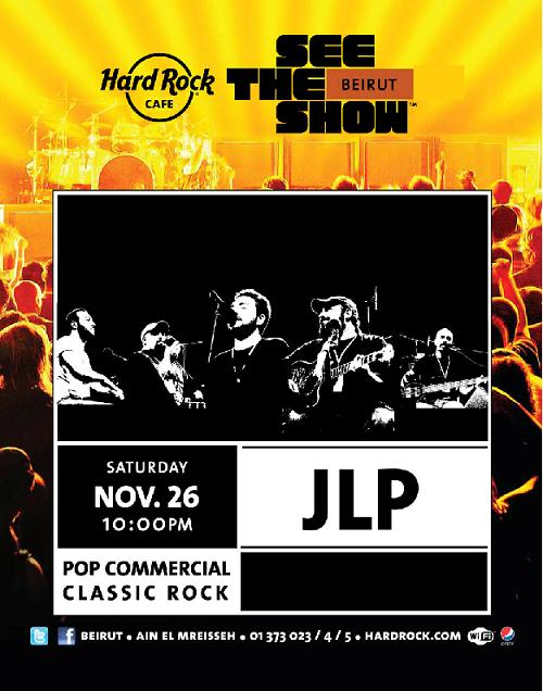 Band JLP At Hard Rock Cafe