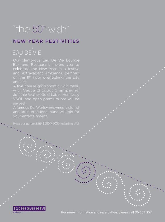 New Year's Eve At Eau De Vie