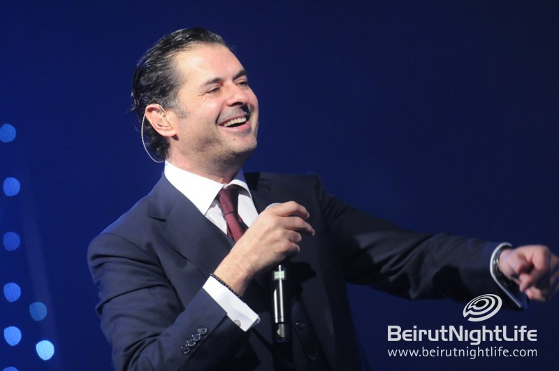 Superstars Ragheb Alama and Haifa Wehbi Grace Biel for an Unforgettable NYE Event