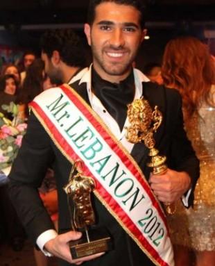 Rodolphe Abi Nader is Mr Lebanon 2012