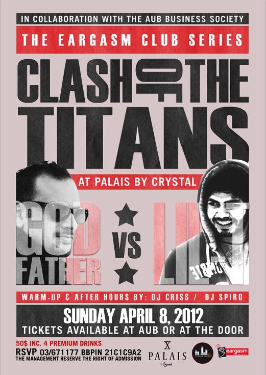 Clash Of The Titans At Palais
