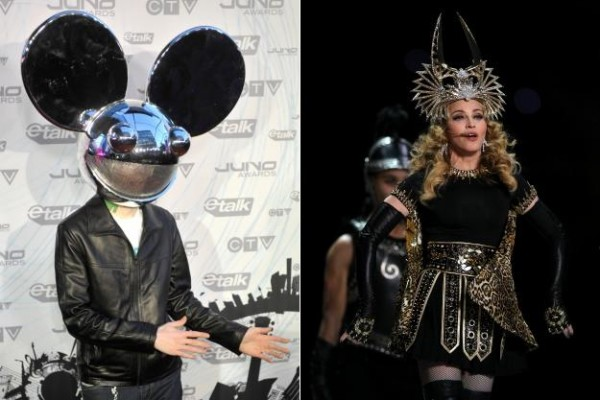 Deadmau5 Attacks Madonna for Allegedly Encouraging Drugs