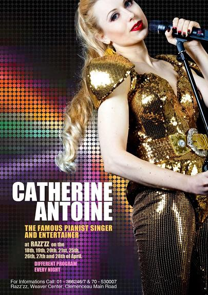 Catherine Antoine Live At Razz'zz