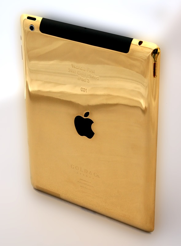 iPad 3 in 24 Carat Gold!