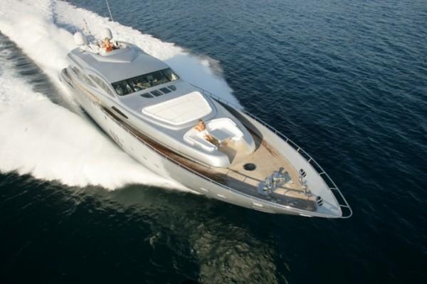 The Luxury Motor Yacht PERSHING 115/2