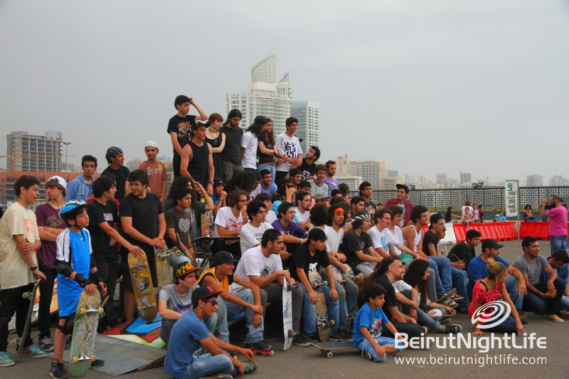 The First Ever Public Pop-Up Skate Park In Lebanon